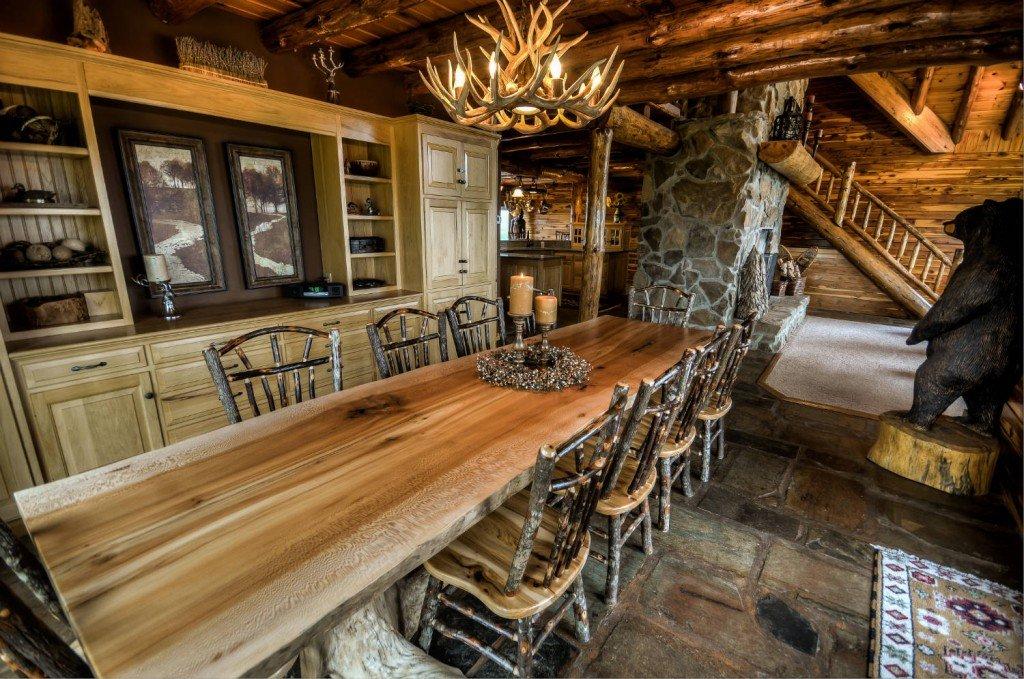Ohio Luxury Log Cabin Rental Coshocton Crest Lodge